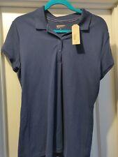 NWT Arizona Girls Uniform Navy Blue Polo Shirt New Sz XL School Uniform