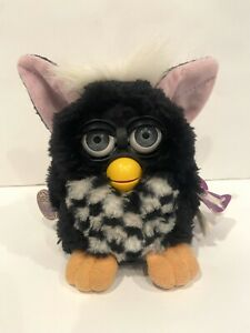 Furby Babies Black and White 1999 Tiger Electronics Not Working