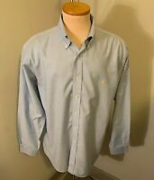 Brooks Brothers Golden Fleece Blue Button Down Shirt Est 1818 Size L Non Iron
