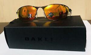 Oakley Whisker OO4141-0260 Men's Sunglasses - Prizm Ruby/Matte Gunmetal NWT