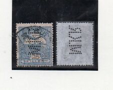 Hungria Valor con perforación comercial M.K.R. año 1904-5 (CG-564)