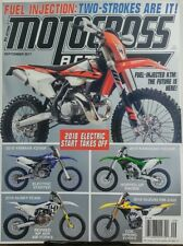 Motocross Action September 2017 2018 Electric Start Takes Off FREE SHIPPING sb
