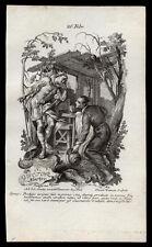 santino incisione 1700 S.VITTORE M. heumann