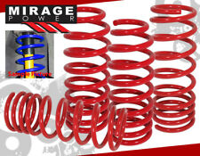 98-02 Honda Accord Performance Sport Lower Lowering Coil Spring Drop Kit Red