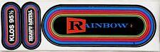 RAINBOW 80's KLOS LA Radio Concert Bumper Stickers Ritchie Blackmore Heavy Metal