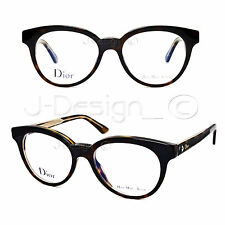 Christian Dior Dior Montaigne N.5 G7J Tortoise 49/17/135 Eyeglasses Italy - New