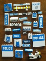 Lego Police Logo spare parts new and vintage joblot