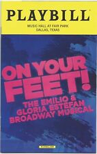 On Your Feet! Playbill Music Hall at Fair Park Dallas 2018