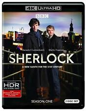 SHERLOCK  (4K ULTRA HD)  BRAND NEW + FREE SHIPPING