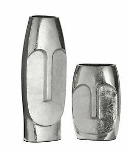 MAMMOTH 38cm Amazing Italian Art Aluminium Tribute To Picasso Face Vase