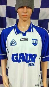 Vintage Waterford GAA 2003-2005 Official Azzurri Hurling Jersey Shirt (Adult XL)