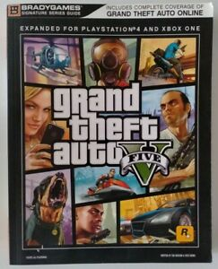 Grand Theft Auto V Five Strategy Guide Updated Expanded PS4 XBox One Brady Games