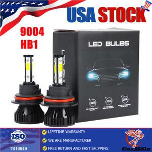 9004 HB1 LED Headlights for Dodge RAM 1500 2500 3500 1994-2001 Hi/Low Beam