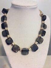 $98 Kate Spade Colorblock Black Necklace BBB 32. MKA-27