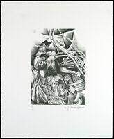 Untitled, 1983. Offset-Lithographie Bert GERRESHEIM (*1935 D), handsigniert