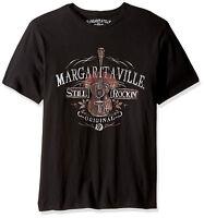 Margaritaville Authentic Men's Still Rocking Black T-Shirts Size Med - 2XL