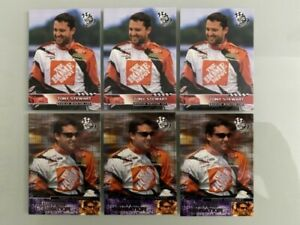 2003 Press Pass Tony Stewart (#31 and #61) Lot of (6) NM/MT