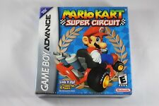Mario Kart Super Circuit (Nintendo Game Boy Advance GBA) NEW Factory Sealed