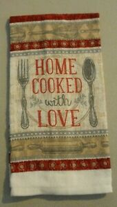 14 X 24 Kitchen towel Home Cooked with Love 262705