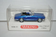 Wiking 186 49 - GLAS 1700 GT Cabrio for Marklin - NEW w/BOX