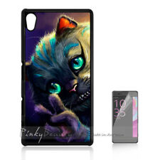 ( For Sony Z3 ) Back Case Cover P11122 Cheshire Cat