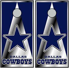 Dallas Cowboys 0610 custom cornhole board vinyl wraps stickers