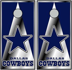 Dallas Cowboys 0610 cornhole board vinyl wraps FREE SHIPPING!