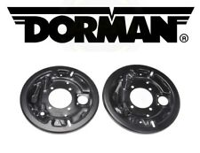 For GMC Chevrolet K1500 88-99 Rear Brake Dust Shield-1 Pair Dorman 924-218