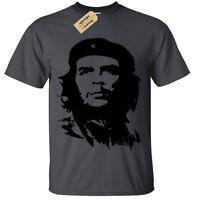 Che Guevara Écran Imprimé T-Shirt pour Hommes S-5XL Rétro