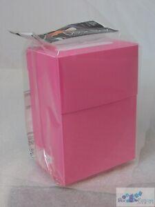 Ultra Pro Bright Pink deck box card box mtg Pokemon SAVE ON COMBINED SHIP!