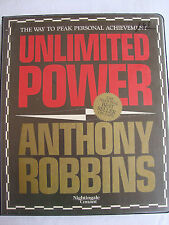 Anthony Robbins Unlimited Power Personal Achievement 6 Cassettes Tapes Audio