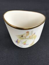 Lindner Kueps Bavaria Germany Regatta Porcelain Unusual Trinket Dish Hanagemalt