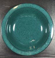2 Sets Vintage Mikasa Chromatic CB401 Emerald Green Soup Bowl & Salad Plate
