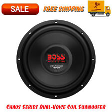 "Boss Audio CH10DVC Chaos Series Dual-Voice Coil Subwoofer, 10"", InstallerNet"