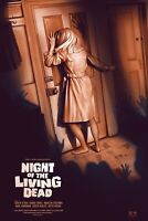 George Romero Night Of The Living Dead Movie Print Poster Mondo Sara Deck Horror