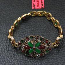Betsey Johnson Fashion Jewelry Beauty Flower Crystal Bangle Bracelet