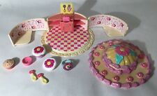 Little Sisters Miss Party Surprise Baking Party Playset Cupcake Lot Toybiz 1999