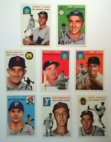 "1994 Topps Archives ""The Ultimate 1954 Set"" 17 Base + 2 Gold NM-MT Cards!!"