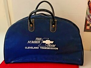 CHEVROLET TRAVEL / GYM / TOOL  BAG NUMBER 1 TEAM CLEVELAND TRANSMISSION PREOWNED