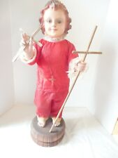 """Vintage 1930's-40's Religious Boy Mannequin 30"""" Tall Anatomically Correct"""