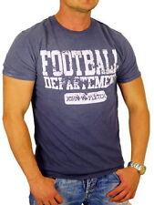 Vintage-unifarbene Herren-T-Shirts in Größe XL