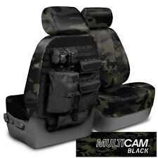 NEW MultiCam Classic Black Camouflage Seat Covers w/Molle System / 5102066-19