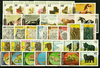 BULGARIA Fauna (I) BEARS SNAKES HORSES - lot of 6 complete sets (36 stamps) MNH