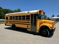 2003 Bluebird international  Short School Bus Air Brakes D466E With  Lift AC