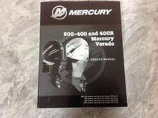 MERCURY MARINE VERADO 200-400 & 400R AFACTORY SERVICE MANUAL  90-8m0133008
