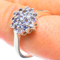Tanzanite 925 Sterling Silver Ring Size 11.5 Ana Co Jewelry R50726F