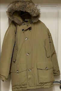 Woolrich Arctic Parka Down Puffer Coat Jacket - Size Small