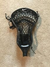 Nike Lakota U lacrosse head All Black with Semi-Soft Black Mesh