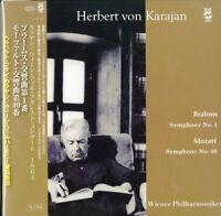 HERBERT VON KARAJAN &...-BRAHMS: SYMPHONY NO.1. MOZART...-JAPAN 2 LP Ltd/Ed AI70
