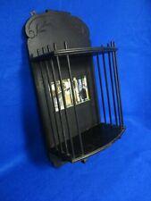 Ebonized Eastlake Aesthetic Victorian Wall Shelf W/ Mirror